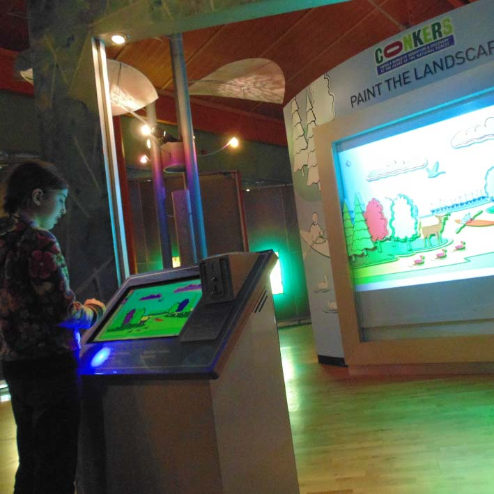3D digital interactive for museum and exhibitions